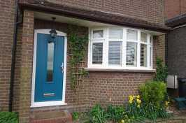Door & Bay Window After