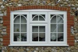 Set of 3 uPVC Casement Windows