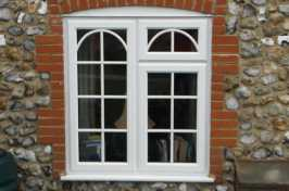 Pair of uPVC Casement Windows